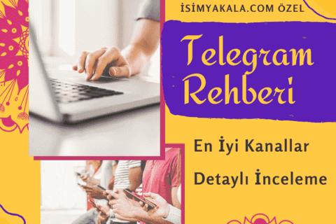 En İyi Telegram Kanalları 2021 Güncel